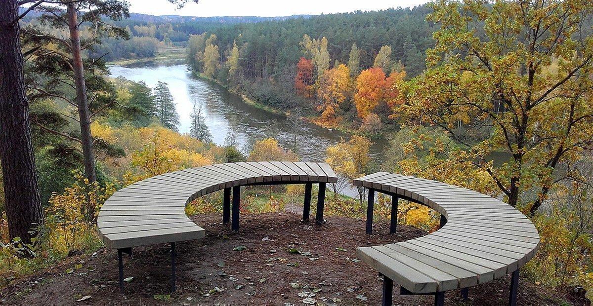 Neries regioniniame parke originaliai atnaujintas Šilėnų pažintinis takas