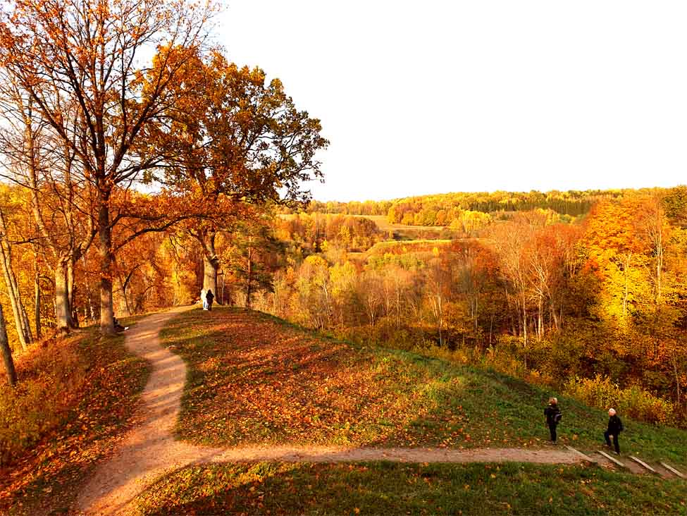 Dūkštos pažintinis takas - viena gražiausių vietų Lietuvoje rudenį