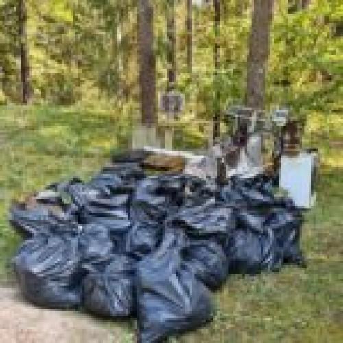 """Pirmąkart miškininkų surengta akcija """"Miško kuopa"""" tapo prasmingos tradicijos pradžia"""